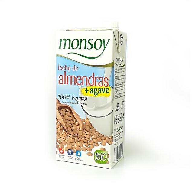 Foto de Bebida de Almendra con agave Monsoy eco 1lt