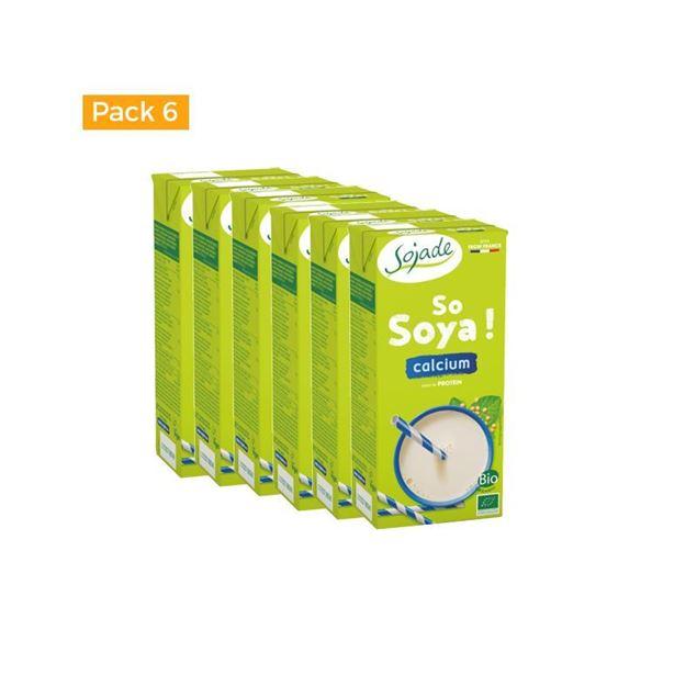 Foto de Caja de bebida de Soja+ calcio Sojade eco 6 ud