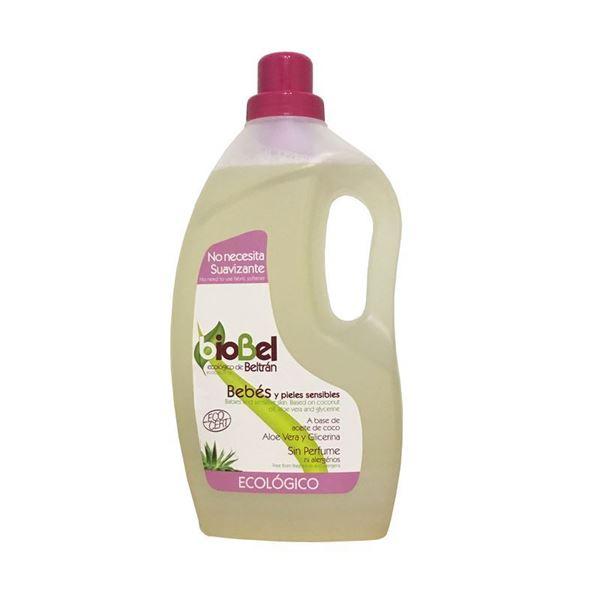 Foto de Jabon para pieles sensibles y bebes Biobel eco 1,5lt