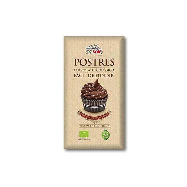 Foto de Chocolate para postres eco 200gr