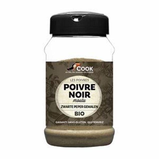 Foto de Pimienta negra en polvo sin gluten eco 220g
