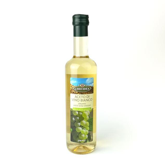 Foto de Vinagre de vino blanco eco 500ml
