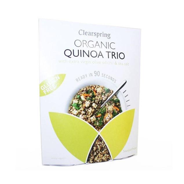 Foto de Quinoa Trio Instantaneo s/gluten eco 250gr