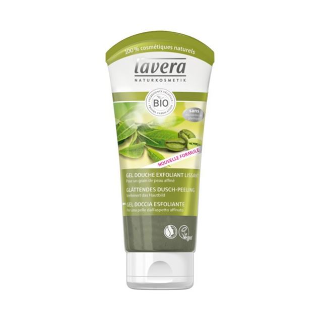Foto de Gel Ducha Exfoliante Lavera eco 200ml