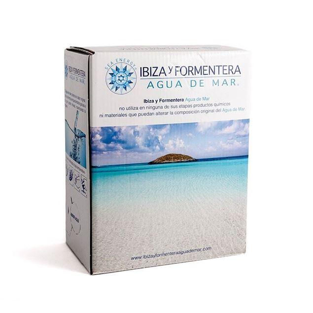 """Foto de Agua de Mar """"Ibiza y Formentera"""" Box 3lt"""
