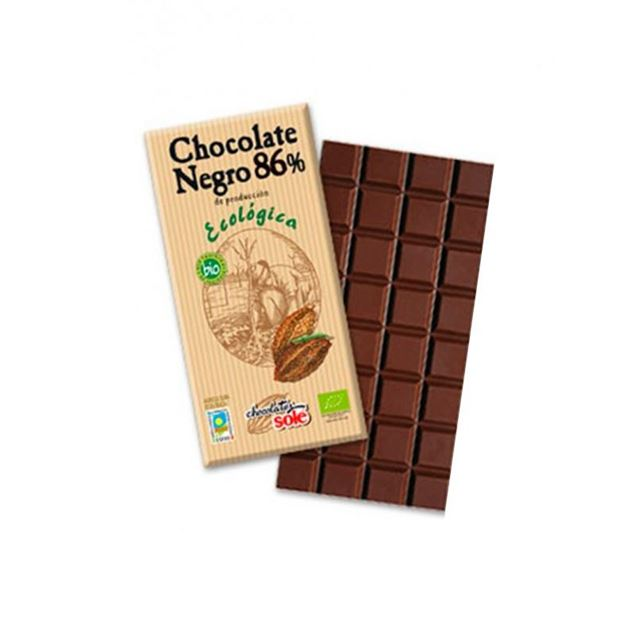 Foto de Chocolate negro 86% eco 100gr