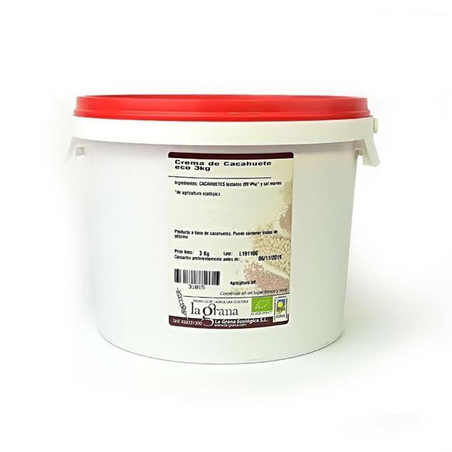 Foto de Crema de Cacahuete eco 3kg