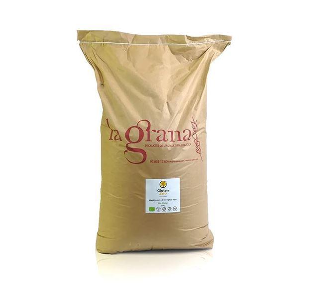 Foto de Harina de arroz integral Gluten Zero eco sin gluten 25kg