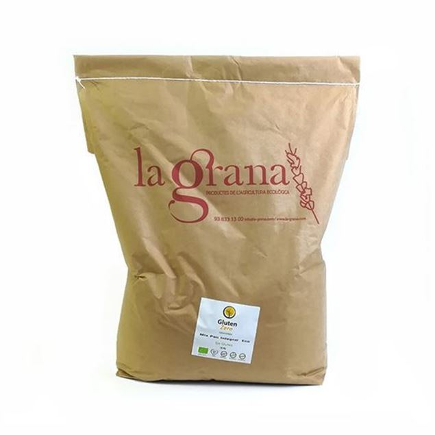 Foto de Mix Pan Integral Sin Gluten eco 10kg