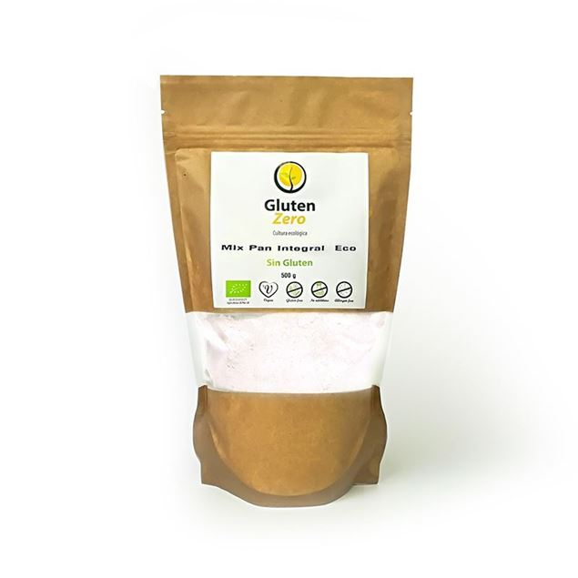 Foto de Mix Pan Integral sin gluten eco 500gr