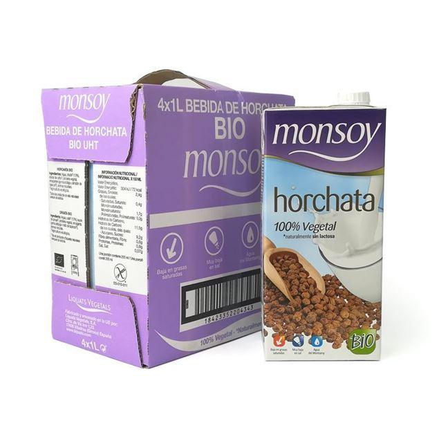 Foto de Caja de horchata Monsoy eco 4 ud
