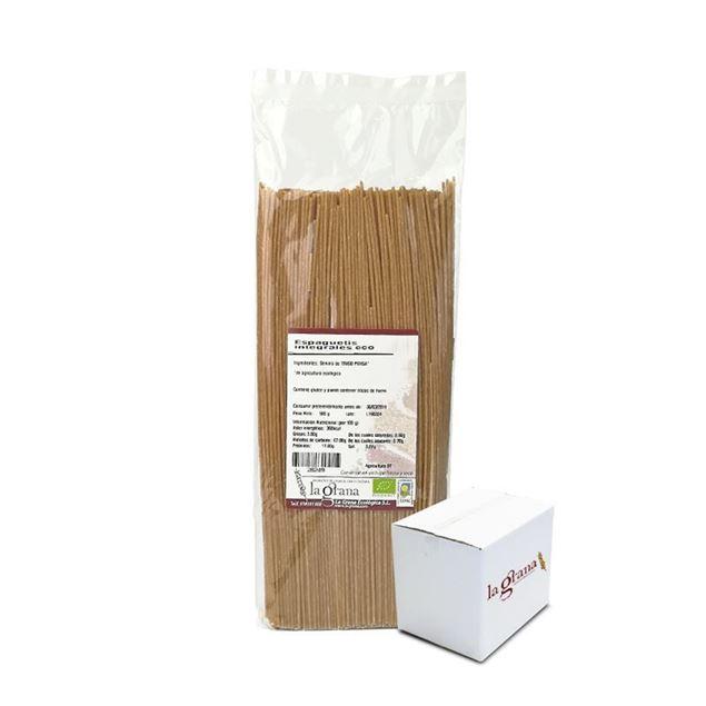 Foto de Espaguetis integrales eco 5Kg