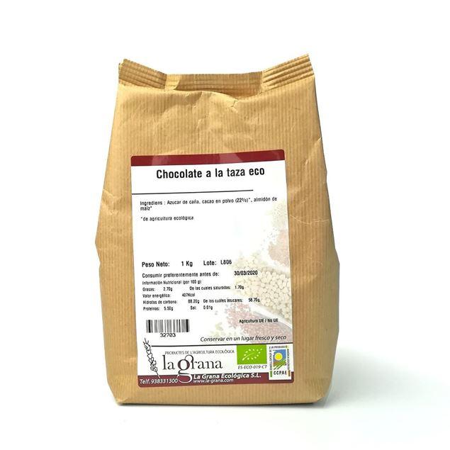 Foto de Chocolate a la taza eco 1kg