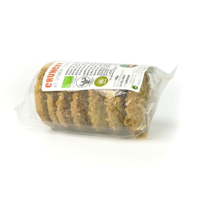 Foto de Galletas crunchy nuts eco 140g