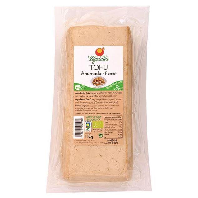 Foto de Tofu ahumado granel eco 1kg Vegetalia