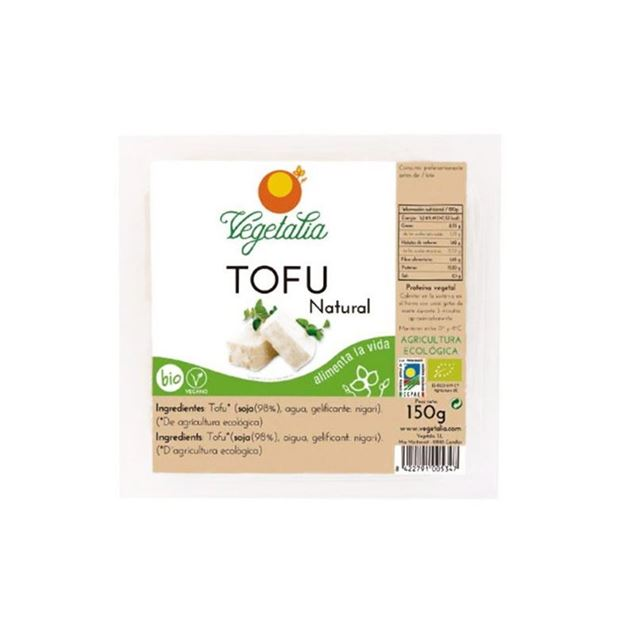 Foto de Tofu fresco natural eco 250g Vegetalia