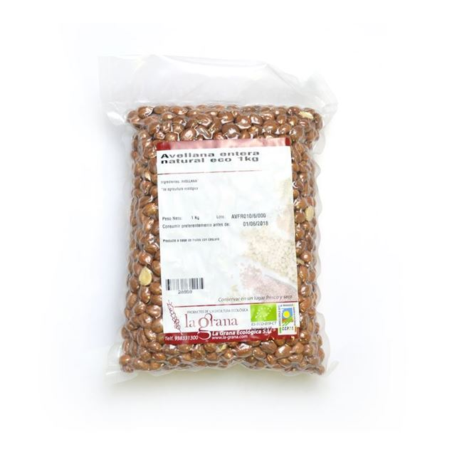 Foto de Avellana entera natural eco 1kg