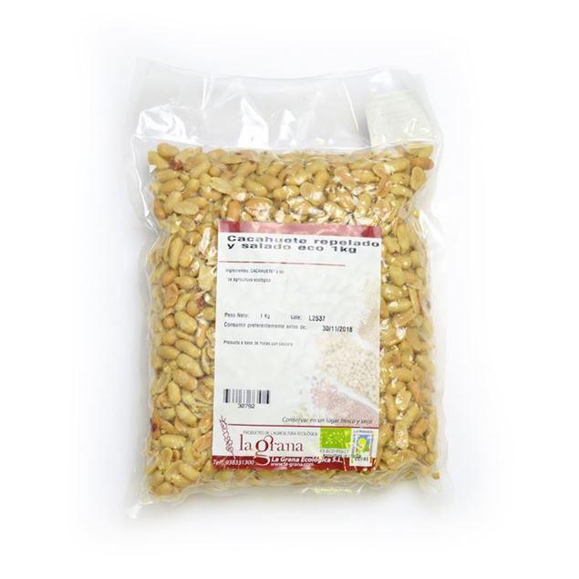 Foto de Cacahuete repelado y salado eco 1kg
