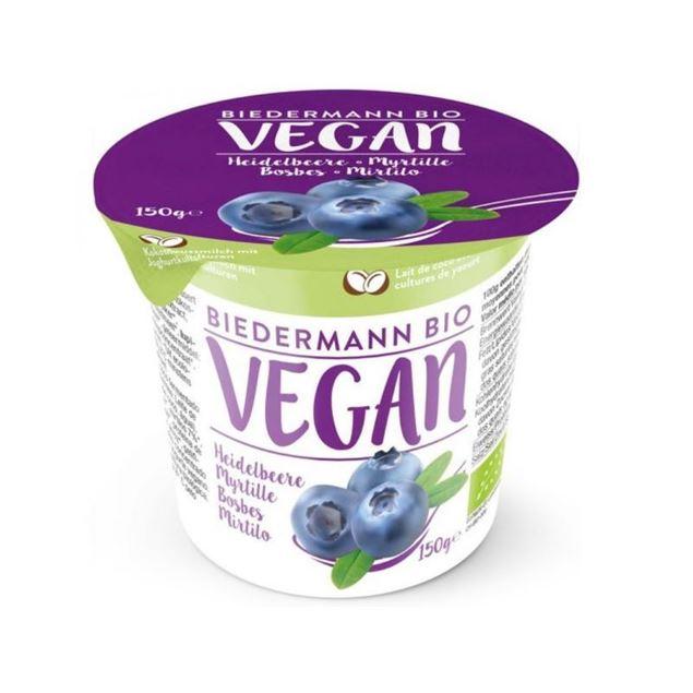Foto de Yogur de Coco con arandanos eco 150g