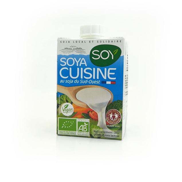 Foto de Crema de soja para cocinar eco 200ml