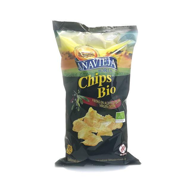 Foto de Patatas fritas en aceite de oliva eco 125g