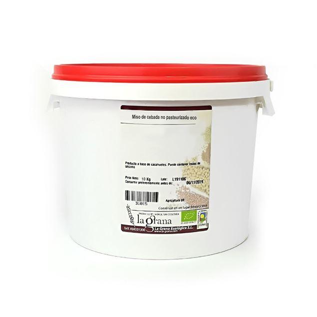 Foto de Miso de cebada no pasteurizado eco 10kg