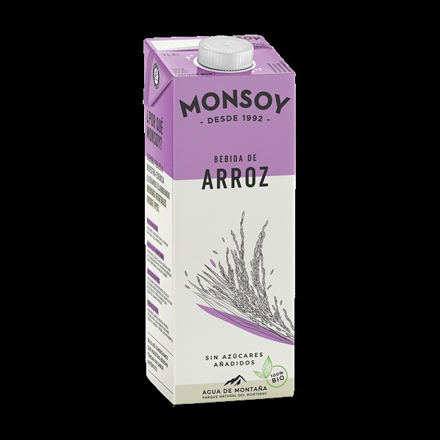Foto de Bebida de arroz Monsoy eco 1lt