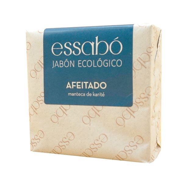 Foto de Jabon de afeitado en pastilla con manteca de karite eco 120gr