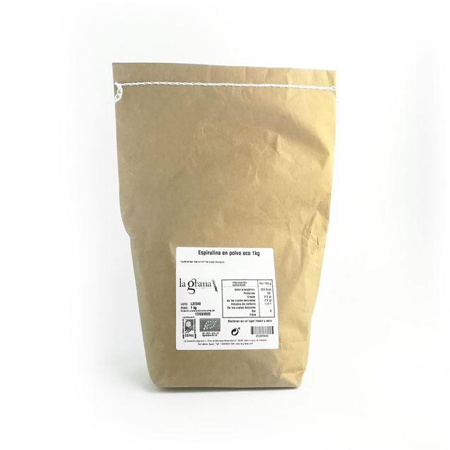 Foto de Espirulina en polvo eco 1kg