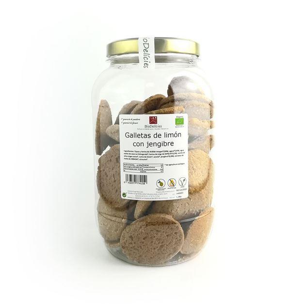 Foto de Galletas de limon con jengibre eco 1,1 kg