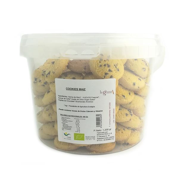 Foto de Cookies de Maiz eco 1.2kg