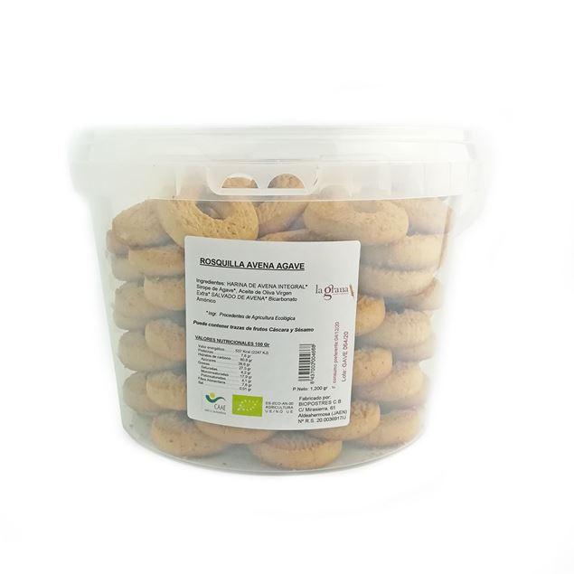Foto de Rosquillas de Avena con agave eco 1.2kg