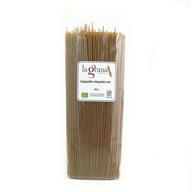 Foto de Espaguetis integrales eco 500gr