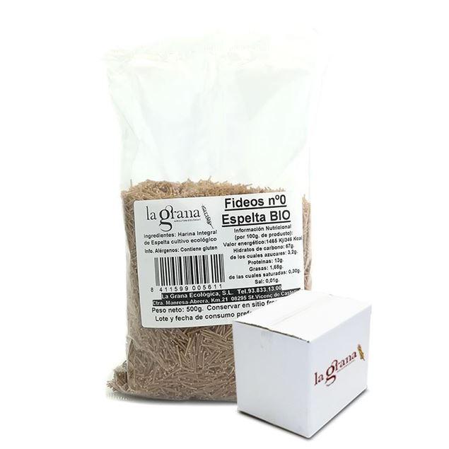 Foto de Caja de Fideos de espelta eco 6 kg (12 x 500g)