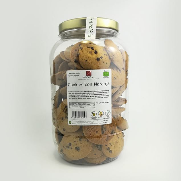 Foto de Cookies con naranja eco 1,1kg