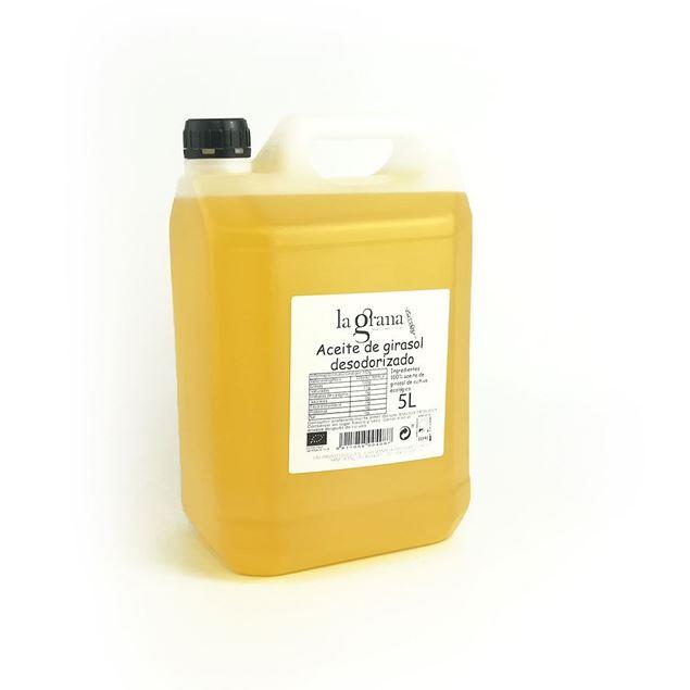 Foto de Aceite de Girasol desodorizado eco 5lt