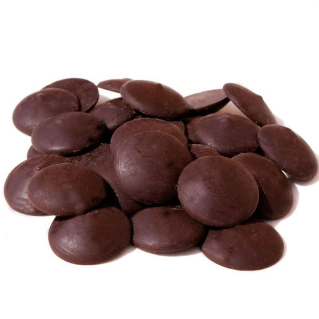 Foto de Cobertura gotas de chocolate negro 60% eco 10kg