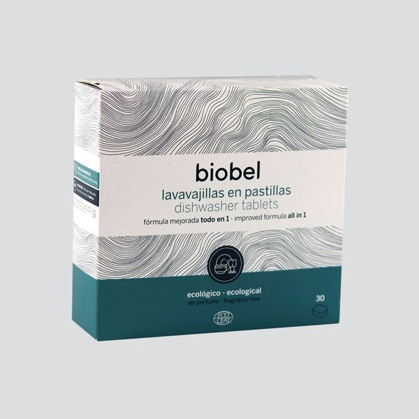 Foto de Pastillas para lavavajillas Biobel eco 30 unid.